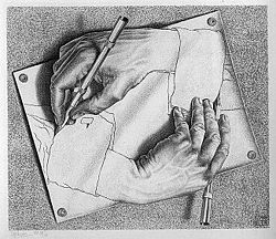 Escher-Drawing Hands